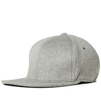 Nanamica Wool Baseball Cap Heather Grey