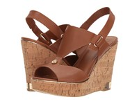Guess Hulda Old Tan Leather Wedge Shoes