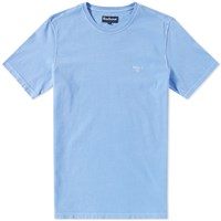 Barbour Garment Dyed Tee Blue