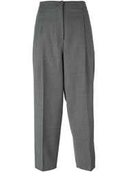 Sportmax Cropped Trousers Grey