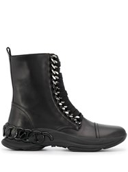 Casadei Lace Up Ankle Boots Black