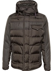Moncler Quilted Nylon Puffa Jacket Green