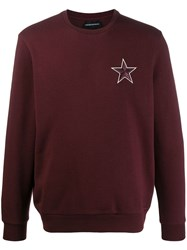 Emporio Armani Embroidered Star Sweatshirt