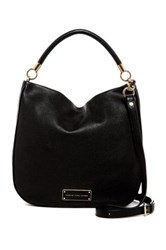Marc By Marc Jacobs Leather Hobo Black
