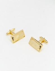 Asos Gold Textured Cufflinks
