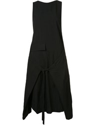 Song For The Mute Tie Waist Dress Black