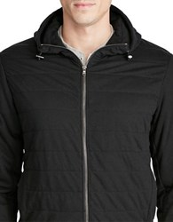 Polo Ralph Lauren Quilted Jersey Full Zip Hoodie Polo Black