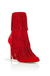 Paul Andrew Suede Fringed Taos Boots