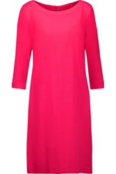 Goat Madeleine Wool Crepe Dress Bright Pink