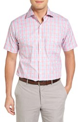 Peter Millar Men's Summertime Glen Plaid Sport Shirt