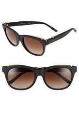 Tory Burch Women's 53Mm Gold Trimmed Sunglasses Gold Black