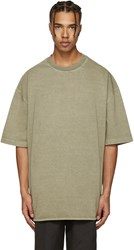 Yeezy Season 3 Green Heavy Knit T Shirt
