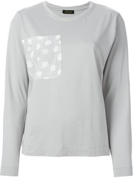 Stine Goya 'Mathilda' Pocket Top Grey