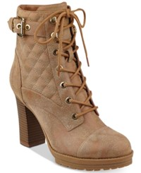 G By Guess Gift Boots Women's Shoes Cognac