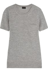 J.Crew Cashmere T Shirt Gray