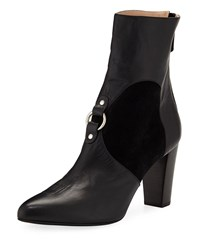 Altuzarra Lucy Harness Covered Booties Black