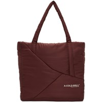 A Cold Wall Burgundy Padded Tote