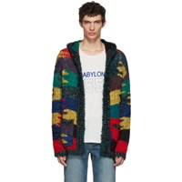 Saint Laurent Multicolor Oversized Cardigan