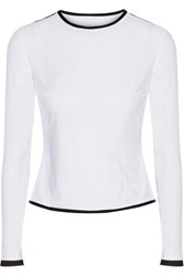 Ward Whillas Marlen Reversible Perforated Rash Guard White
