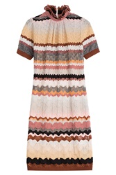 Missoni Knitted Silk Dress Multicolor