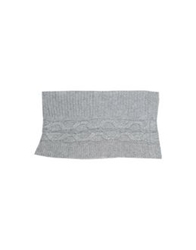 Closed Oblong Scarves Light Grey