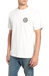 Brixton Rival Ii Graphic T Shirt Off White Yellow