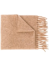 Forte Forte Oversized Scarf Nude And Neutrals