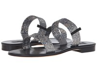 Sarah Jessica Parker Wallace Silver Scintillate Black Nappa