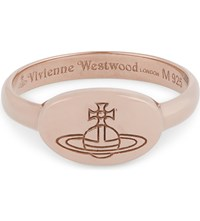 Vivienne Westwood Jewellery Tilly Ring Pink Gold