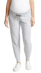 Ingrid And Isabel Active Maternity Jogger Pants Light Heather Grey