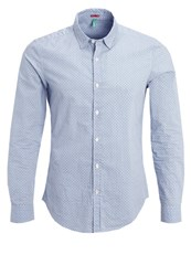 United Colors Of Benetton Slim Fit Shirt Blue