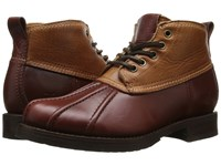 Frye Veronica Duck Chukka Cinnamon Multi Smooth Pull Up Oiled Vintage Women's Lace Up Boots Brown