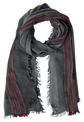 Replay Scarf Grey Dark Grey
