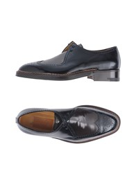 A.Testoni Footwear Lace Up Shoes Black