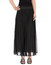 Mes Demoiselles Skirts Long Skirts Women Dark Green