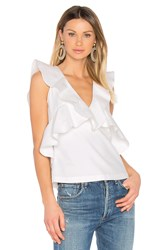 Marissa Webb Margeaux Top White