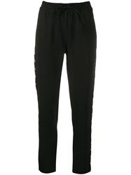 Liu Jo High Rise Drawstring Trousers 60