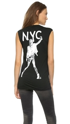 Blk Dnm Anja Nyc T Shirt 28 Black White