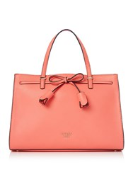 Guess Leila Girlfriend Satchel Bag Pink