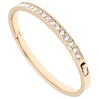 Ted Baker Clemara Swarovski Crystal Bangle Gold Clear