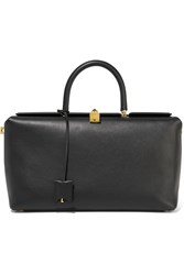 Tom Ford India Leather Tote Black