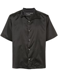Enfants Riches Deprimes Short Sleeve Shirt Unisex Silk M Black
