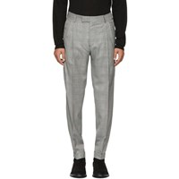 Tiger Of Sweden Black And White Tivolo Trousers