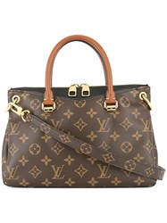Louis Vuitton Vintage Pallas Bb Bag Brown