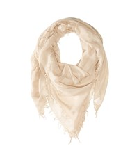 Chan Luu Cashmere And Silk Scarf Doeskin Scarves Beige