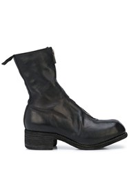 Guidi Front Zip Ankle Boots 60