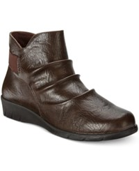 Easy Street Shoes Bounty Ankle Booties Women's Brown
