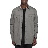 Norse Projects Dried Olive Villads Twill Shirt Green