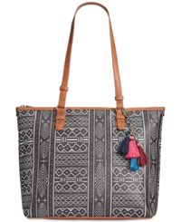 The Sak Pacifica Tote A Macy's Exclusive Style Black White