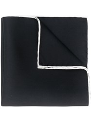 Dolce And Gabbana Classic Square Scarf Black
